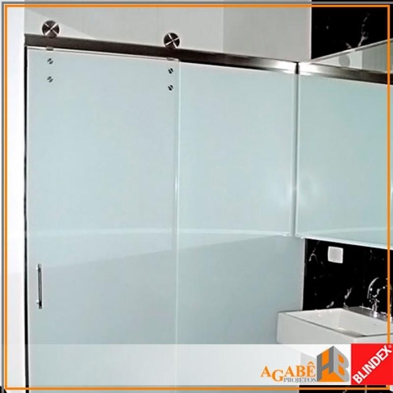 Box de Banheiro Branco Preço Santo Amaro - Box de Banheiro com Alumínio