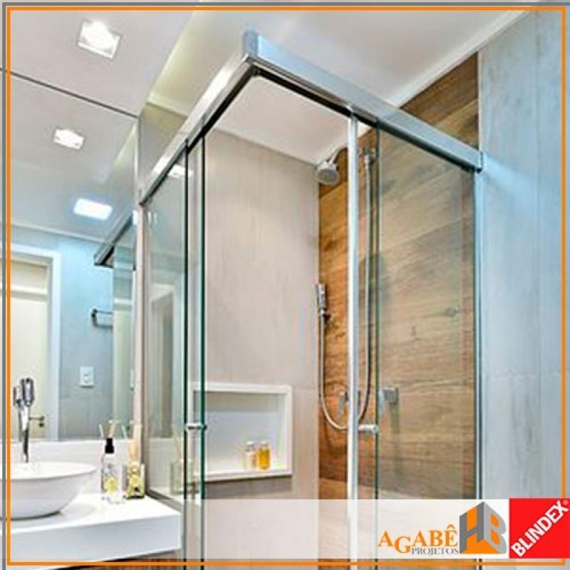 Qual o Valor de Box de Banheiro Pequeno Vila Mascote - Box de Banheiro com Alumínio
