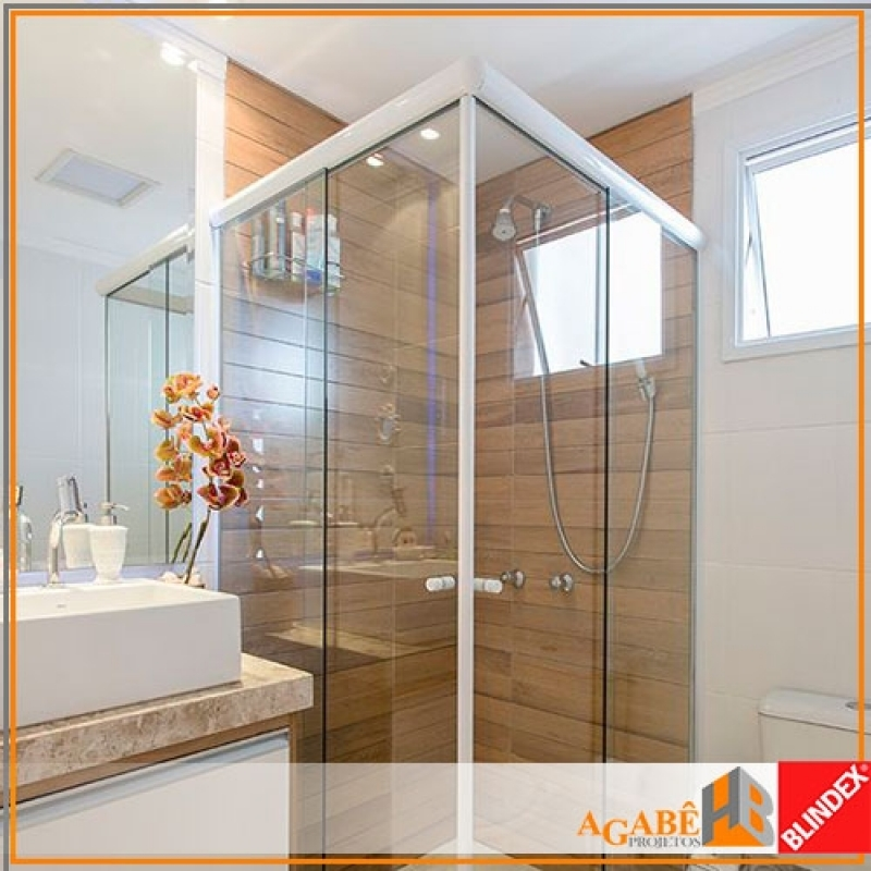 Qual o Valor de Box de Banheiro Vidro Vila Cruzeiro - Box de Banheiro com Alumínio