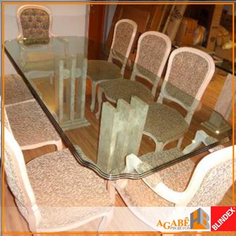 Quanto Custa Tampo de Vidro Bisotado Butantã - Tampo de Vidro Quadrado