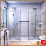 box de vidros para banheiro Santo Amaro