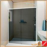 box frontais para banheiro vidro Santo Amaro