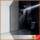 box frontal para banheiro vidro valor Moema