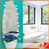 espelho decorativo de parede Saúde