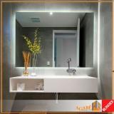 espelho decorativo para banheiro Consolação