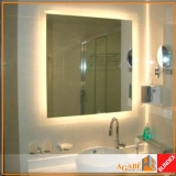 Espelho Prata Lapidado