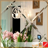 espelho prata lapidado valor Jardins
