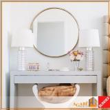 espelhos com bisotê Cerqueira César
