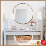 espelhos decorativos banheiro Brooklin