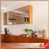 espelhos decorativos corredor Itaim Bibi