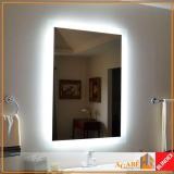 valor de espelho com led Vila Mascote